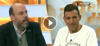 VÍDEO Enganxada entre Basté i Ajram per defensar o no els equips espanyols