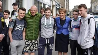 Els independentistes escocesos de l'SNP s'encaminen cap a una nova victòria
