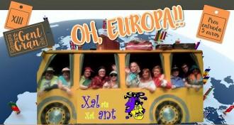 Video del grup de teatre de gent gran de Solsona, Xalats Xalant, amb la comèdia «Oh, Europa!»