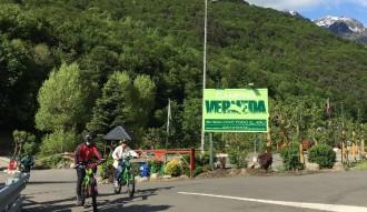 Periodistes de la revista italiana «Caravan e Camper» visiten el Pallars