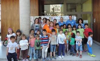 Tremp dibuixa per als nens i nenes de l'aula hospitalària de l'Arnau