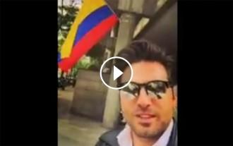 VÍDEO La ficada de pota de David Bustamante que es fa viral