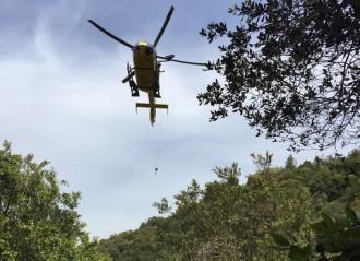 Vés a: Rescaten en helicòpter una dona accidentada a La Mola