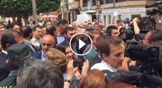 Vés a: VÍDEO Rajoy rebut al crit de «lladre» al País Valencià