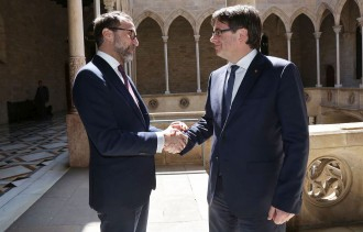 Vés a: Puigdemont rep per primera vegada l'ambaixador dels Estats Units