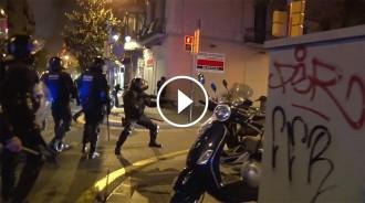 Vés a: VÍDEOS Tres nits d'aldarulls a Gràcia pel desallotjament del «banc expropiat»