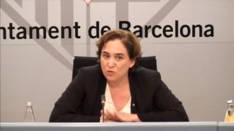 Vés a: Colau demana «proporcionalitat» als Mossos en els incidents a Gràcia