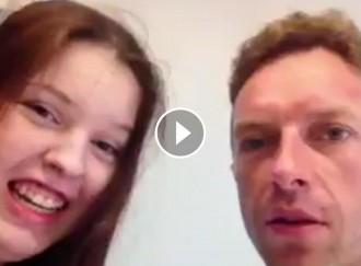 El cantant de Coldplay permet complir el somni d'una adolescent catalana
