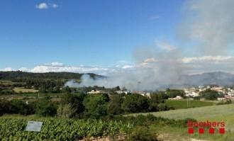 Vés a: Declarat un incendi a Torrelavit, a l'Alt Penedès