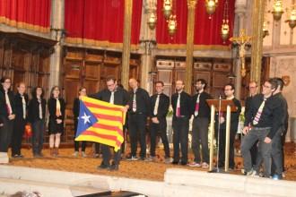 L'Orfeó Nova Solsona i el cor Ecce Coro canten agermanats a la Catedral de Solsona