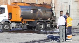 Vés a: Un camió de mercaderies perilloses s'incendia a Terrassa