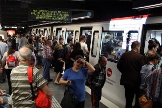 Vés a: Menys aglomeracions en l'inici de la segona jornada de vaga de metro