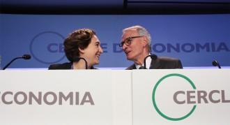 Vés a: Colau «guanya» Iglesias als cercles empresarials