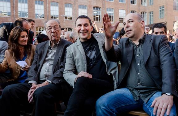 «Temps de pau, vents de llibertat»: Arnaldo Otegi a Barcelona