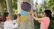 FOTOS del Dia Mundial del Teixir en Públic a Terrassa
