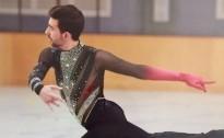 Miquel Marcilla, del CN Terrassa, vuitè en el campionat sènior de patinatge