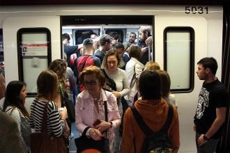 Vés a: Tercera jornada de vaga consecutiva al metro de Barcelona