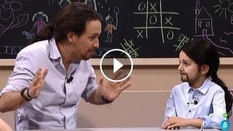 Vés a: Iglesias, a uns nens: «Pensem que no hi ha d'haver deures a Primària»