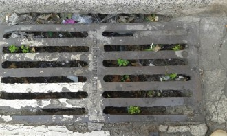 Denuncien el mal estat dels desguassos del carrer Galileu de Terrassa