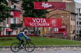 La campanya del 26-J a peu de carrer