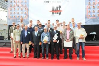 SIMET homenatja una vintena de treballadors pels seus 25 anys a l'empresa