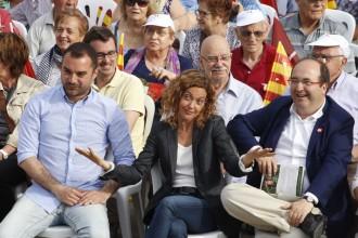 Meritxell Batet a Terrassa: «Iglesias no està a l'alçada per ser president»