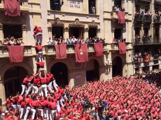 Duel de gamma extra de les colles vallenques a Sant Joan
