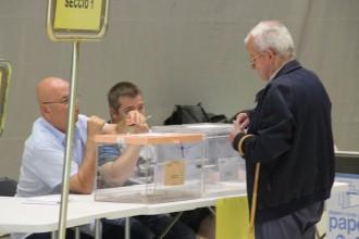 A les 11 del matí ja havia votat a Solsona el 9,87% del cens