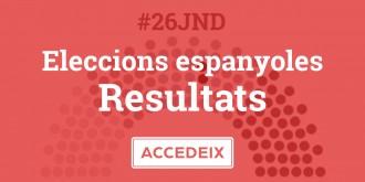 Consulta tots els resultats del 26-J municipi per municipi