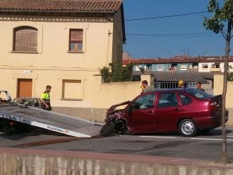 Vés a: Un ferit en un accident a Santa Eugènia de Berga, a Osona