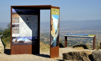 El projecte Geoparc inicia una campanya de senyalització d'indrets emblemàtics