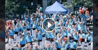 VÍDEO: Els Castellers de Terrassa engresquen la colla per la Festa Major