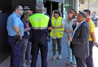 El CAP Bages fa un simulacre d'emergències amb l'evacuació de 300 persones