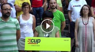 Vés a: VÍDEO EN DIRECTE Roda de premsa de la CUP per valorar els resultats del 26-J