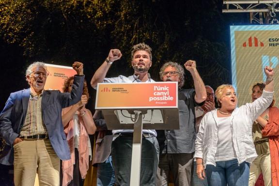 Eleccions26-J: inici de campanya d'ERC