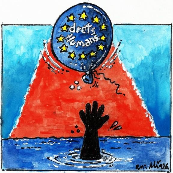 Dia Mundial de les persones refugiades... GENOCIDI!!!