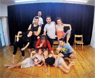 Espectacle d'improvisació al Teatre Comarcal