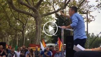 Vés a: Un any de presó per al líder ultra que va cridar a agredir el fotoperiodista Jordi Borràs