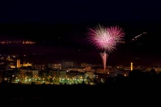 Castell de focs de la festa major de Vic