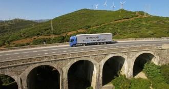 Vés a: Iveco Stralis, el primer camió de gas natural que travessa Europa