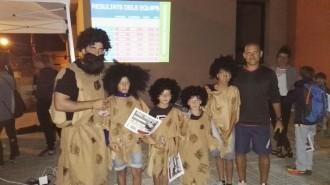 40  participants distribuïts en 7 equips al 4t Joc d'orientació Nocturn del Pi de Sant Just