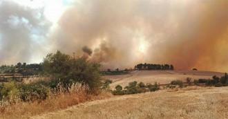 El Pallars Jussà continua amb l'alt risc d'incendis forestals