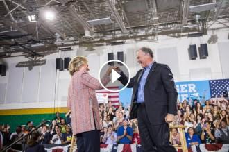 Vés a: VÍDEO Clinton escull el senador Tim Kaine per ser el seu vicepresident