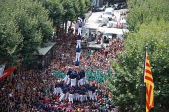 La Diada castellera de Les Santes podria veure manilles de tres colors