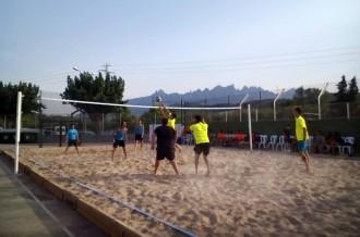 Sant Vicenç tindrà habilitada durant tot l'estiu la pista de vòlei platja