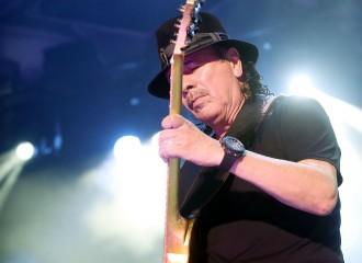 Vés a: El músic Carlos Santana brilla a Cap Roig