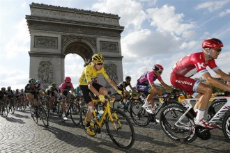 Vés a: Froome guanya el seu tercer Tour de França