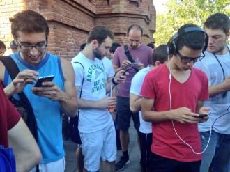 Vés a: La primera trobada de «Pokémon Go» a Catalunya acaba amb expedient als organitzadors