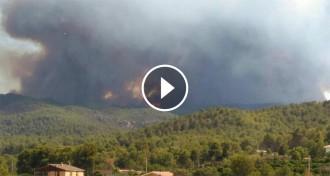 Vés a: Incendi a la Serra d'Espadà, a Castelló