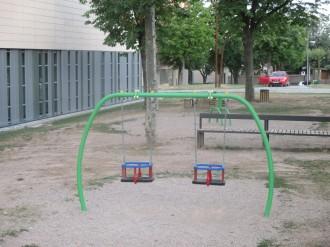 L'ajuntament de Solsona compra nou mobiliari infantil per al Parc del Casal Cívic